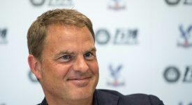 De Boer praised the intensity. AFP