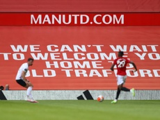 Old Trafford will remain closed to spectators. AFP
