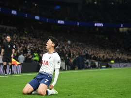 Son scored the first goal in Tottenham's new stadium. AFP