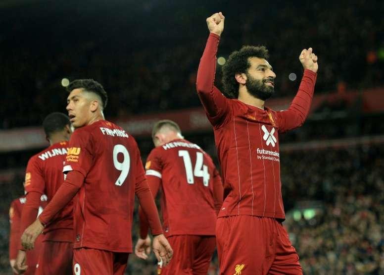 Salah égale Yaya Touré en Premier League. AFP