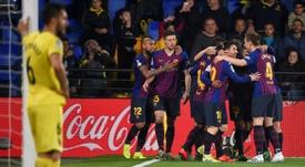 Les compos probables du match de Liga entre le FC Barcelone et Villarreal. AFP
