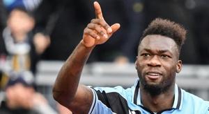 Le formezioni ufficiali di Club Brugge-Lazio. AFP