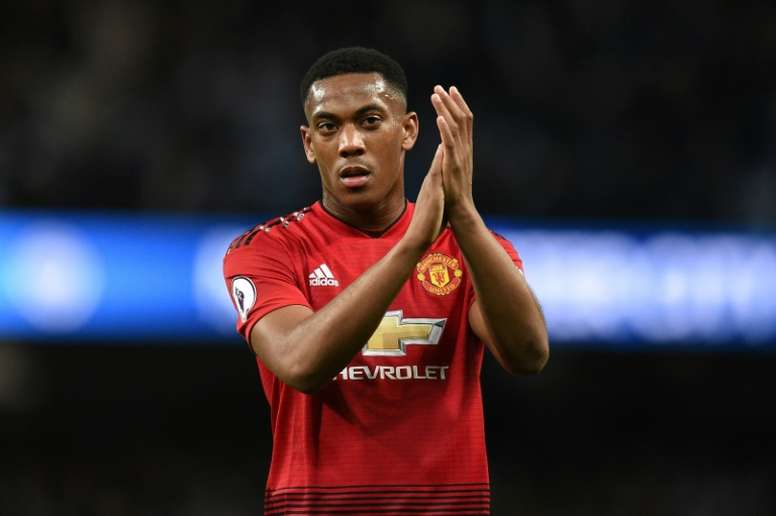 Manchester United are in contract talks with French forward Anthony Martial