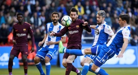 Relegated Deportivo fume over 'botched' decision to delay game. AFP