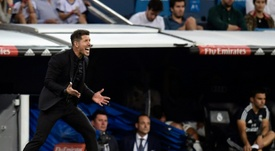 Atletico manager Diego Simeone called it a good result. AFP