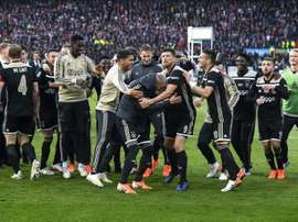 Ajax took home the Dutch Cup on Sunday. AFP