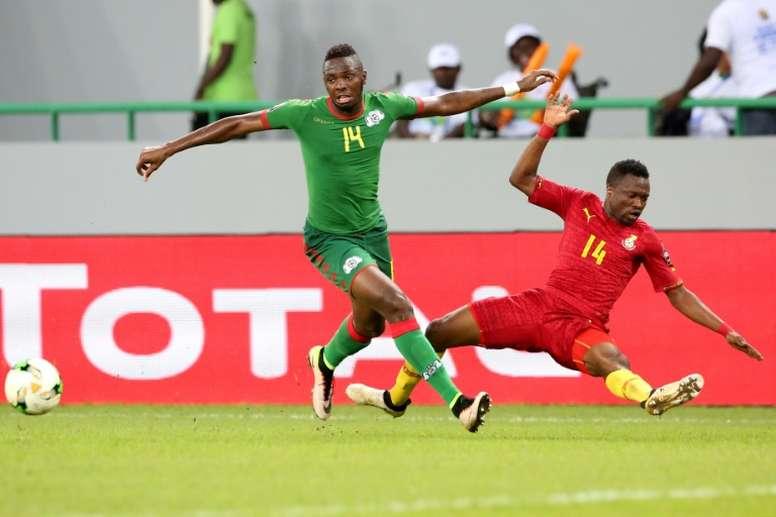 Berkane won the CAF Confederation Cup. AFP