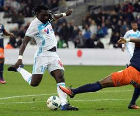 Gomis treble as Marseille return to form with Evra