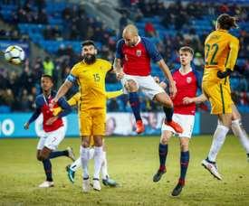 Norway eased past Australia 4-1. AFP