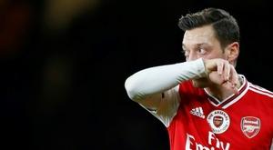 La Chine refuse de diffuser un match d'Arsenal à cause d'Özil. AFP