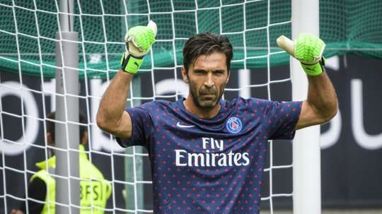 Buffon believes Verratti is Italy's only talented player. AFP