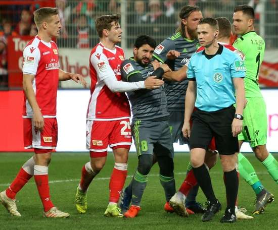 Almog Cohen was subjected to anti-semitic abuse following the match. AFP