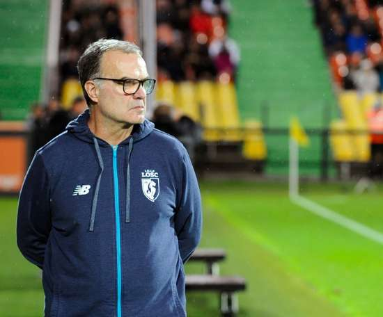 Bielsa has already signed two players on loan from Chelsea. AFP