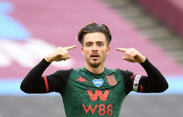 Grealish has signed a new deal. AFP