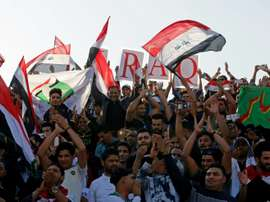 The national team is finally back on the field in Iraq
