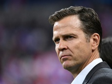 Bierhoff admits failings over Ozil situation and team selection. AFP