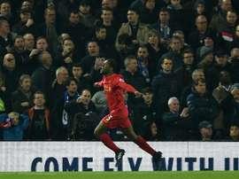 Wijnaldum na 'mira' do Real Madrid para a próxima temporada. AFP