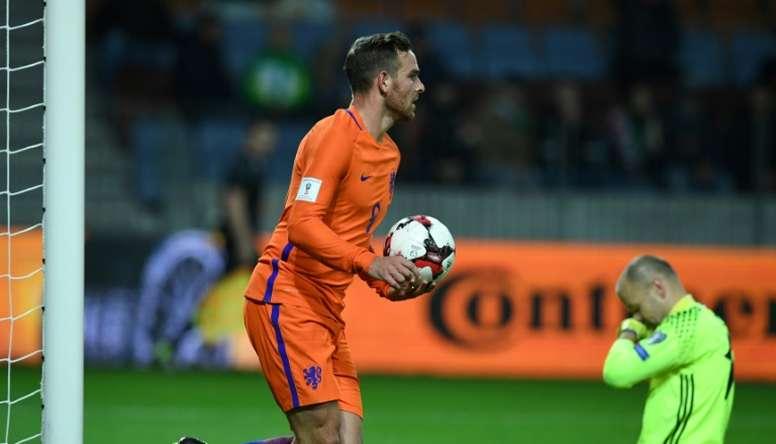 El Betis irá de nuevo a por Janssen. AFP