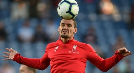 Lovren is no longer a regular for Liverpool. AFP