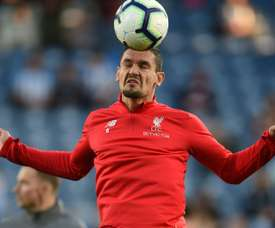 Lovren is no longer a regular for Liverpool. AFP