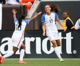 Estados Unidos luchará por la Copa SheBelieves. AFP