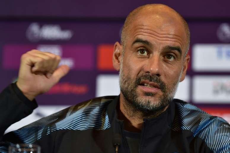 Guardiola hopeful of defensive reinforcement. AFP