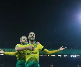 Norwich drew 2-2. AFP