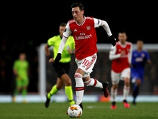 Ozil has blasted Arsenal's failure to back his Uighur Muslim comments. AFP
