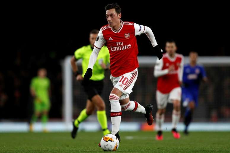 Ozil has two months to save himself. AFP