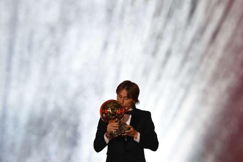 Buenos tiempos para Modric. AFP