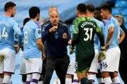 Pep Guardiola sigue dando oportunidades a los jóvenes. AFP/Archivo