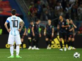 Messi has still not returned to the international fold. AFP