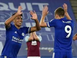 Leicester s'impose dans le dur. AFP