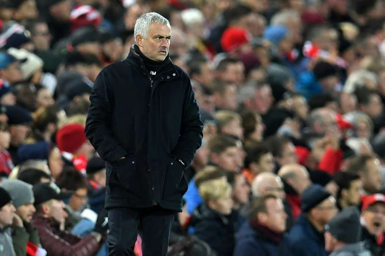 Mourinho thinks United won't be in Top 2. AFP