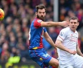 El centrocampista galés podría estar a punto de renovar con el conjunto británico. AFP
