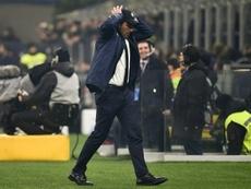 Inter seeking to 'bounce back' against Sampdoria before Juventus showdown. AFP