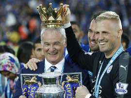 Claudio Ranieri won the Premier League title as Leicester manager in the 2015/16 season. AFP