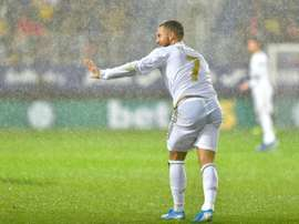 Eden Hazard a toujours refusé le PSG. AFP