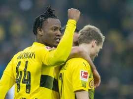 O Borussia bateu o Hamburgo por 2-0. AFP