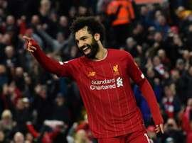 Os números de Salah que afastam qualquer dúvida. AFP