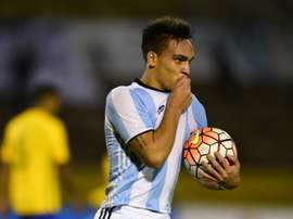 Martinez has made a strong case to be included in Argentina's World Cup Squad. AFP