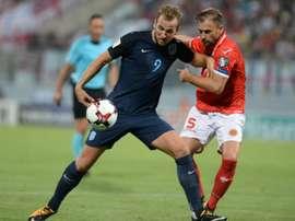 L'Angleterre, leader de son groupe F afronte la Slovaquie à Wembley. AFP