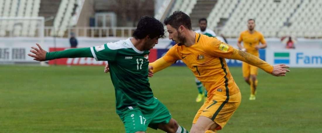 Iraqs defender Alaa Mhawi