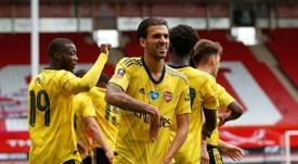 Dani Ceballos revient sur son prêt à Arsenal. AFP