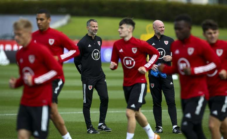 Giggs' childhood experiences add weight to taking the knee. AFP