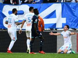 Thauvin was instrumental in Marseille's victory. AFP