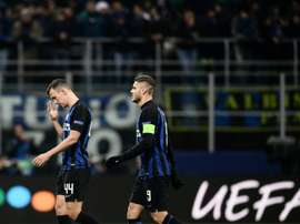 Even the brilliance of captain Icardi could not rescue Inter. AFP