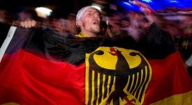 El ambiente en las gradas de Alemania se está caldeando. AFP/Archivo