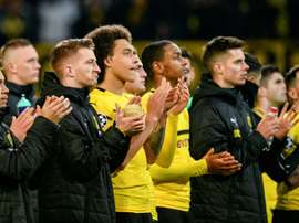 Dortmund came out second-best in their Chmapions League clash with Tottenham. AFP