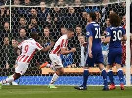 El Stoke City estaría buscando un refuerzo. AFP
